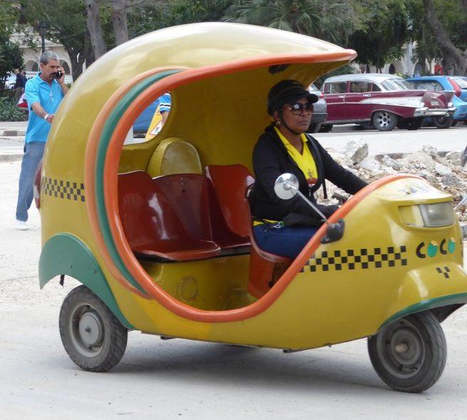 A Co-co taxi